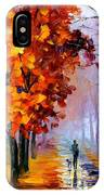 Lilac Fog IPhone Case