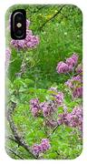 Lilac In The Spring Meadow IPhone Case