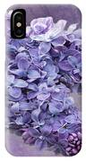 Lilac Spring IPhone Case