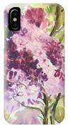 Lilacs - Note Card IPhone Case