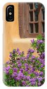 Lilacs And Adobe IPhone Case