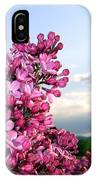 Lilacs And Green Pastures IPhone Case