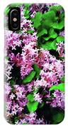 Lilacs In May IPhone Case