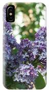 Lilacs In Spring IPhone Case