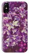 Lilacs IPhone X Case