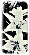 Lilies All Aglow IPhone Case