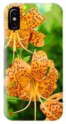 Lilies Art Tiger Lily Flowers Canvas Prints Floral Baslee Troutman IPhone Case