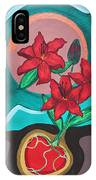 Lilies For My Love IPhone Case by Aliya Michelle