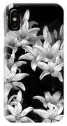 Lilies In My Garden IPhone Case