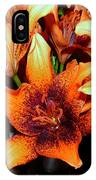 Lilies In The Shadow IPhone Case