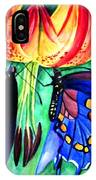 Lily And The Butterflies IPhone Case