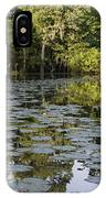 Lily Bend On Blind River IPhone Case