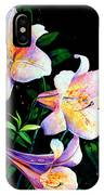 Lily Fiesta IPhone Case