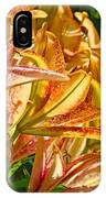 Lily Flowers Floral Garden Prints Baslee Troutman IPhone Case