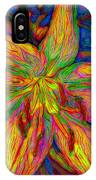 Lily In Abstract IPhone Case