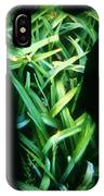 Lily Leaves IPhone Case
