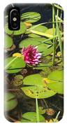Lily Pad Pond In High Noon Sun IPhone Case