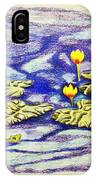 Lily Pad Pond IPhone Case