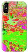 Lily Pads And Koi 19 IPhone Case