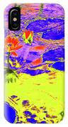 Lily Pads And Koi 9 IPhone Case