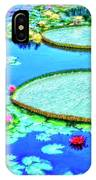 Lily Pond 2 IPhone Case