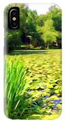 Lily Pond #4 IPhone Case