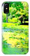 Lily Pond #5 IPhone Case