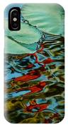 Lily Pond Abstract IPhone Case