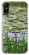 Lily Pond Panorama IPhone Case