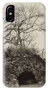 Lime Kilns At Plymouth Meeting IPhone Case