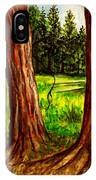 Lime Meadow IPhone Case
