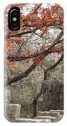 Lincoln Bridge In Fall IPhone Case