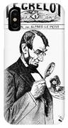 Lincoln Cartoon, 1873 IPhone Case