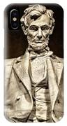 Lincoln Monument IPhone Case