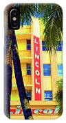 Lincoln Theatre - Sobe IPhone Case