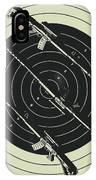 Line Art Rifle Range IPhone X Case