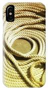 Line Coil IPhone Case