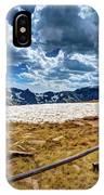 Lingering Snow IPhone Case