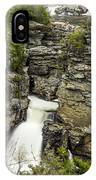 Linville Falls The Upper View IPhone Case
