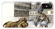 Lion & Gladiator IPhone X Case