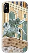 Lion Angel IPhone Case
