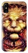 Lion Door Knocker In Dusseldorf, Germany IPhone Case