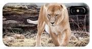 Lion Eyes IPhone Case