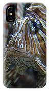 Lion Fish Profile IPhone Case