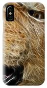 Lion Fractal IPhone Case