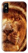 Lion Lady   -1 IPhone Case