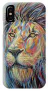 Lion No.3 IPhone Case