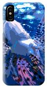 Lion Of The Deep IPhone Case