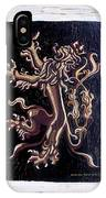 Lion Rampant IPhone Case