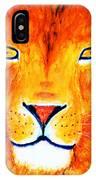 Lion Selfie Color Pop IPhone Case